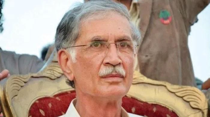 سینیٹ الیکشن: پرویز خٹک نے پی ٹی آئی کے 16 ارکان پر ہارس ٹریڈنگ کا الزام لگادیا