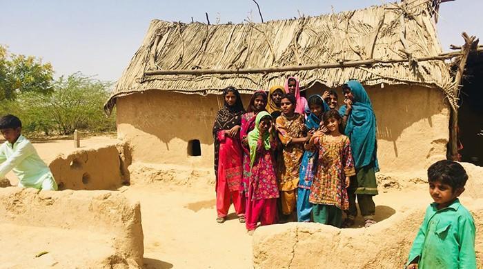 کراچی کے مضافات میں سسکتی زندگی