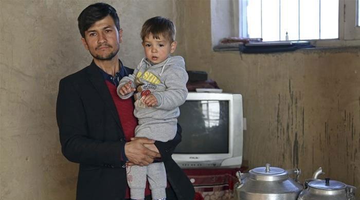 افغان شہری نے اپنے بیٹے کا نام ڈونلڈ ٹرمپ رکھ دیا