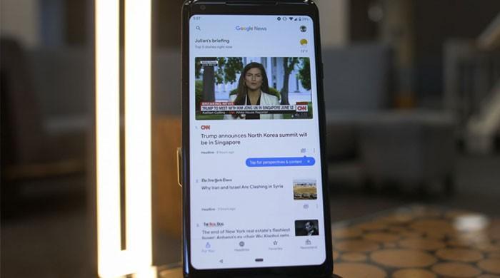 گوگل نے 'نیوز ایپ' اَپ ڈیٹ کردی، آرٹیفیشل انٹیلیجنس بھی شامل