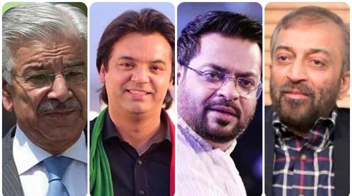 فاروق ستار نے عامر لیاقت، عثمان ڈار نے خواجہ آصف کی الیکشن میں کامیابی چیلنج کردی
