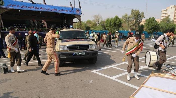 ایرانی صوبے آہواز میں فوجی پریڈ پر حملہ، ہلاکتوں کی تعداد 24 ہوگئی