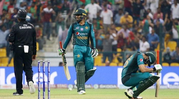 بنگلادیش کے ہاتھوں شکست کے بعد پاکستان ایشیا کپ سے باہر