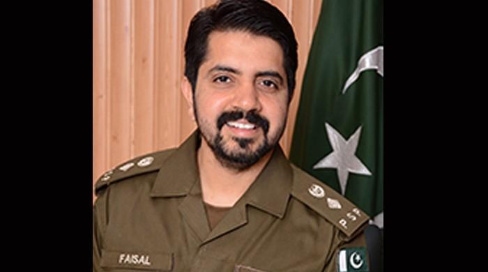 پاکستانی پولیس افسر فیصل مختار کیلئے بین الاقوامی اعزاز