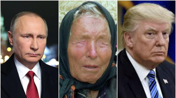 پیوٹن پر حملہ ہو گا، ٹرمپ بہرہ ہو جائے گا: بلغارین نابینا خاتون کی پیش گوئیاں