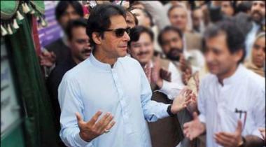 Imran Khan Foundation Stone Of Sawat Expressway