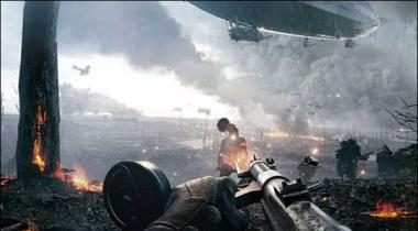Battle Field 1 Action Video Game Trailer