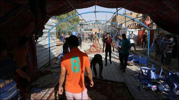 Iraq Suicde Attack On Mourning Porcession 55 Killed