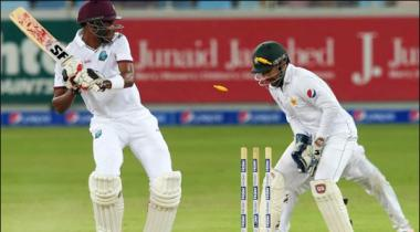 Pakistan Has Declared The Innings West Indies A Target Of 456