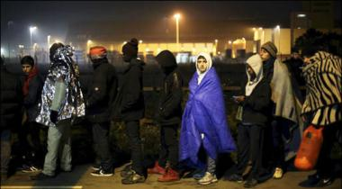 France Rescued Refugees Camp