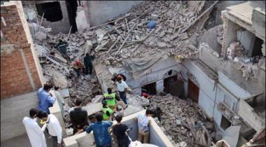 Lahore More 4 Grenades And Bullets In Collapsed Buildings
