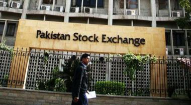 Pakistan Stock Exchange Index 45 Hazar Ki Satah Aboor Ker Gaya