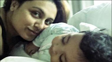Rani Mukhar Jee Ney Betti Ki Tasweer Social Media Par Share Kardi