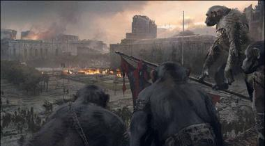 Film Film War For The Planet Of The Apes Ka Pehla Trailer Release