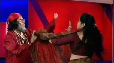 Bharti Nijee Tv Chennal Pr Talk Show Medan E Jang Ban Gea