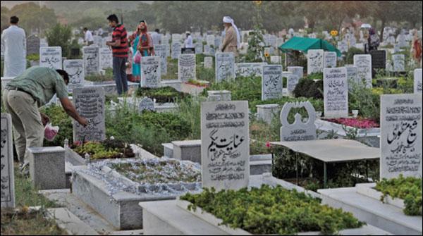 کراچی کے 8 قبرستانوں میں تدفین پر پابندی عائد