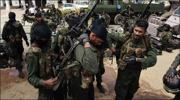 سری لنکا: تامل باغیوں کیخلاف آپریشن، 550فوجی گرفتار