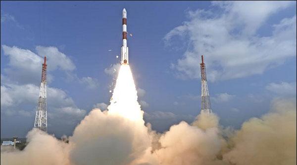 Bahrat Ka Sub Say Zada Satellite Bhejnay Ka Record