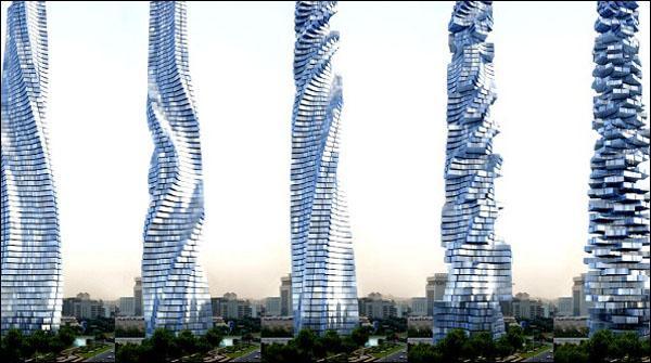 دبئی : دنیاکی پہلی 360 ڈگری پر گھومنے والی عمارت تعمیر ہوگی