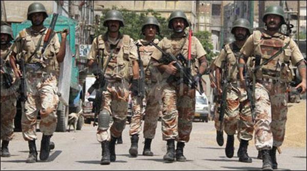 Karachi Rangers Say Muqablay Main Halak 5 Dahshatgardon Ki Shanakht