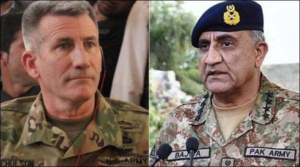 Army Cheif Ka Aghanistan May American General John Nicholson Ko Phone