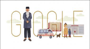 Google Displays Edhi Doodle