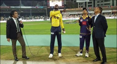 Psl Peshawar Zalmi Won The Toss And Elected To Field First