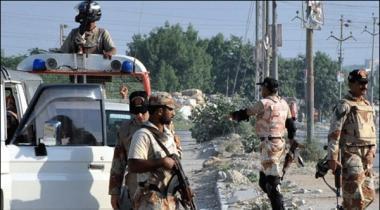 Karachi Rangers Ki Mukhtalif Karwaiya 8 Mulziman Griftar