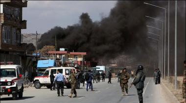Two Suicide Blasts In Kabul 3 Killed 40 Wounded