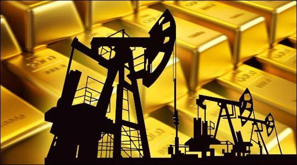 خام تیل 9اور سونا ڈھائی فیصد سستا