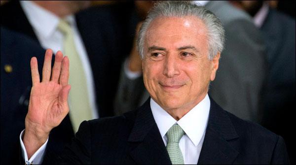 برازیل کے صدر نے سرکاری محل  خالی کردیا