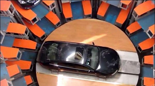 Cheen Mein Parking Ka Naya System Mutarif Kara Diya Gaya
