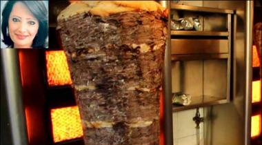 Master Degree Holder In Oncology Woman Selling Shawarma