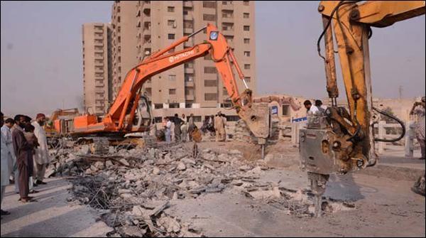 کراچی، ناظم آباد پل کا دوسرا حصہ گرانے کا کام کل شروع ہو گا