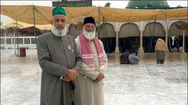 Dargaah Nizam Uddin Auliya Kay Sajjada Nasheen Karachi Pohanch Gaye