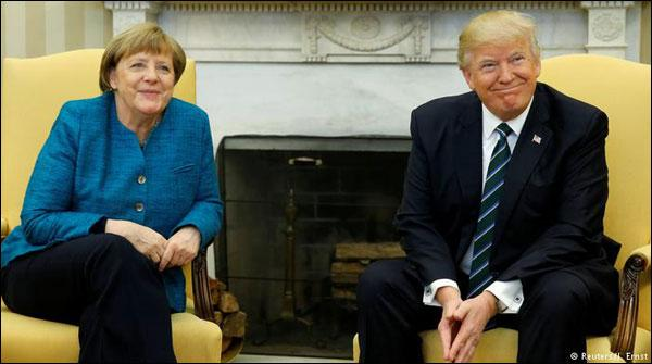 Donald Trump Said Germany Owes Vast Sums Of Money To Nato