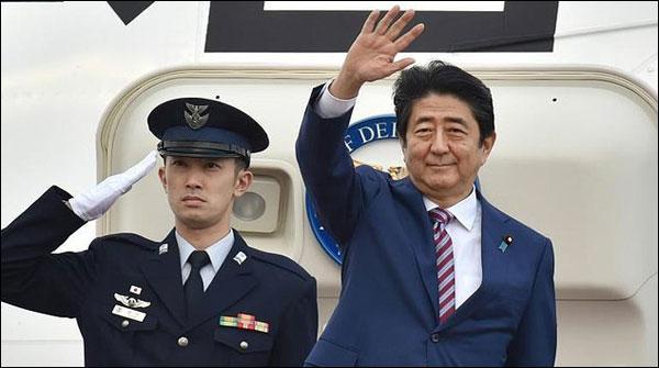 جاپانی وزیر اعظم یورپی ممالک کے چار روزہ دورے پرروانہ