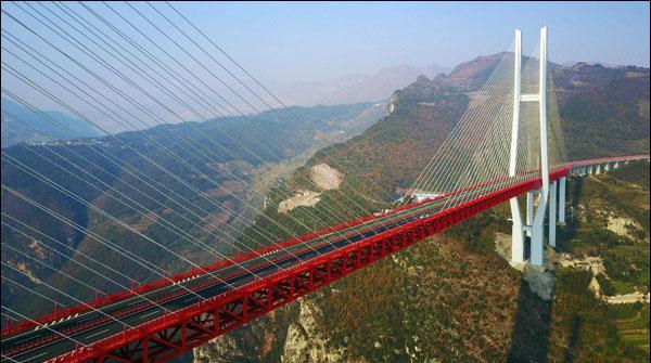 چین میں جھیل پرپُل کی تعمیر مکمل