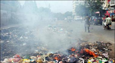 Karachi Fazayi Aalodgi Kay Badtareen Sehron Mein Shaamil