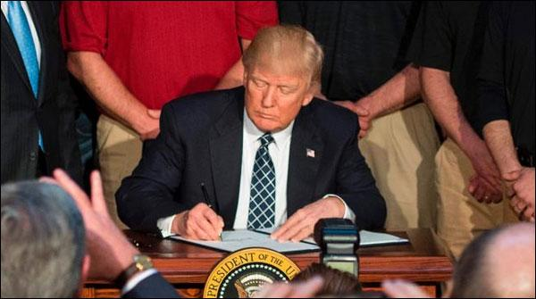 Trumps New Order Released To Tackle The Climate Change Program