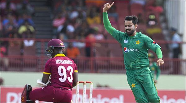 پاکستان اور ویسٹ انڈیز کے درمیان تیسرا ون ڈے آج کھیلا جائے گا
