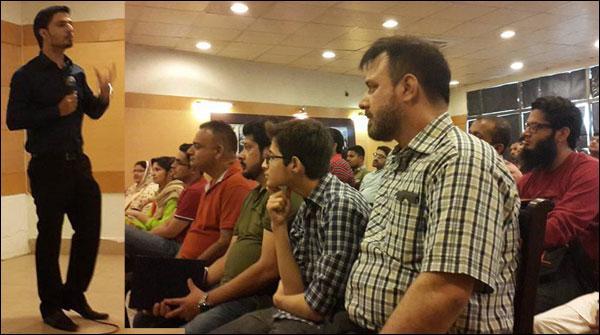 آن لائن پیسا کمانے کیلئے کراچی آرٹس کونسل میں سیمینار