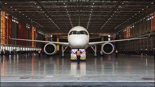 چین میں برق رفتار مسافر طیارے کی کامیاب آزمائش