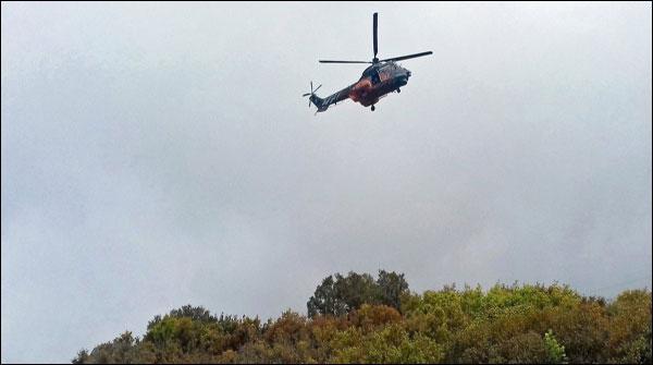 یونان میں فوجی ہیلی کاپٹر گرکر تباہ، چار فوجی ہلاک