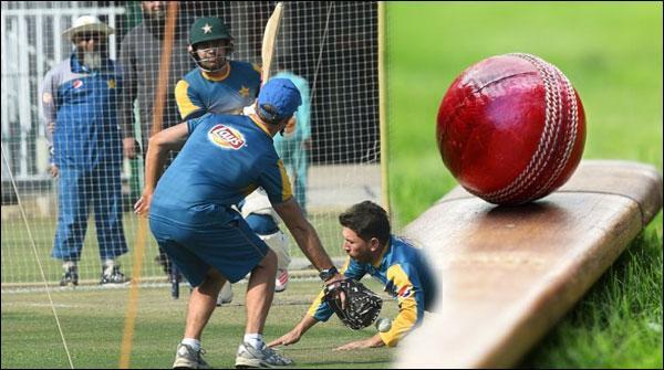 جمیکا، پاکستان کرکٹ ٹیم کا ٹریننگ سیشن