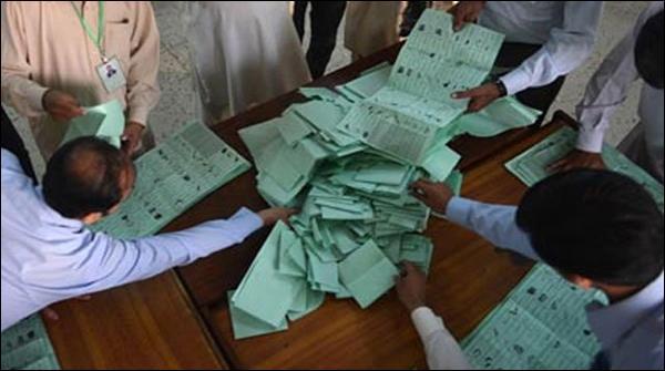 پی ایس 81 ضمنی انتخاب،ووٹوں کی گنتی جاری