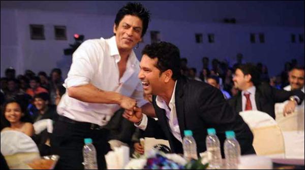 شاہ رخ کا سچن ٹنڈولکر کی فلم کیلئے نیک خواہشات