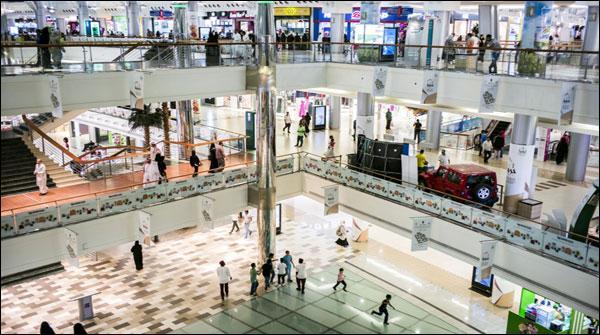 Saudi Arab Shopping Mall Mein Gair Mulki Ko Mulazmat Neihi Di Jaiy Gi