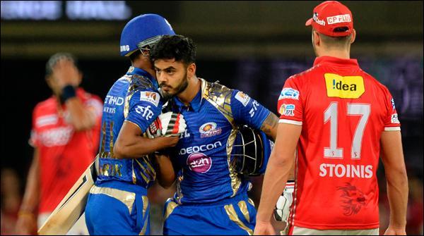 Ipl Mumbai Nay Punjab Ko 8 Wicket Say Hara Deya