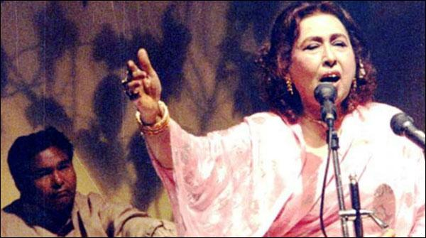 اپنے عہد کی عظیم گلوکارہ 'اقبال بانو'